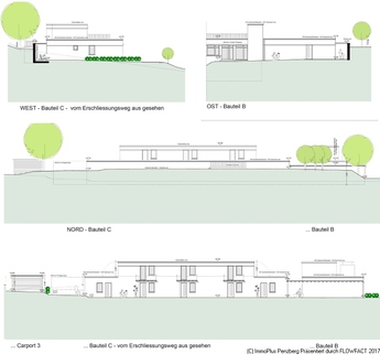 Ansichten Teil 2 4,5 Zi-Whg-Barierefrei mit KFW 55 am Seidlpark