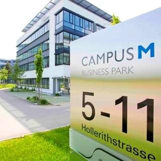 Aussen4 CAMPUS M... Moderne, hochwertig ausgestattete Büroeinheit im Münchner Osten