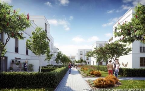 Grünanlagen und Abstandfläche Den persönlichen Anspruch verwirklichen: Atelierhaus mit riesiger Dachterrasse und tollem Garten