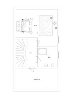 Grundriss DG Neubau einer attraktiven Doppelhaushälfte in Großhadern-Blumenau