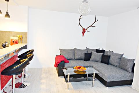 Livingbereich Voll möblierte Zweizimmerwohnung - Erstbezug nach Komplettsanierung