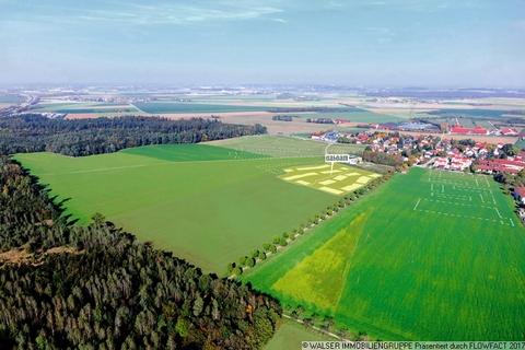 Luftbild Attraktive 3-Zimmerwohnung mit Blick ins Grüne - Fertigstellung bereits Ende diesen Jahres!