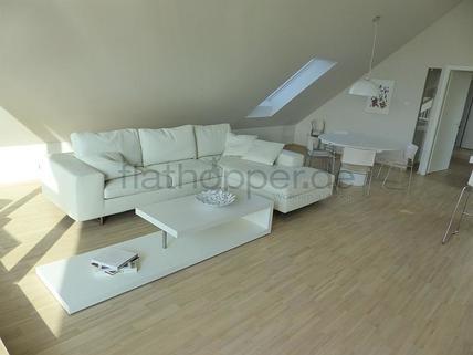 Bild 4 FLATHOPPER.de - Exklusive, lichtdurchflutete 3,5-Zimmer-Dachgeschoss-Wohnung mit Dachterrasse in St