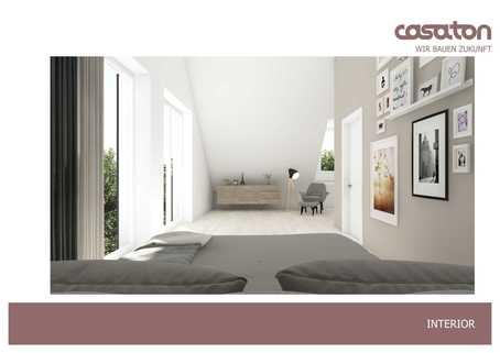 Illustration Dachgeschoss Bestes Waldtrudering: Doppelhaushälfte mit exklusiver Ausstattung in ruhiger Lage! Neubau!