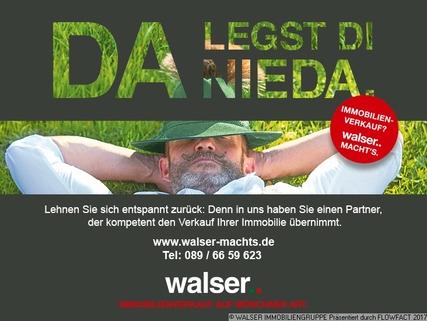 Walser da legst die nieda Den persönlichen Anspruch verwirklichen: Atelierhaus mit riesiger Dachterrasse und tollem Garten