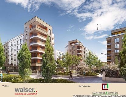Erstklassiges Wohnambiente Gallusviertel: Kompakte und aussergewöhnliche 1,5-Zimmerwohnung mit Loggia