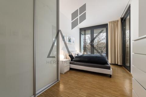 Loftwohnung Beste Ludwigsvorstadt: Zwei-Zimmer,   Loftcharakter - 13qm Süd/West Loggia, Keller/TG - bezugsfrei!