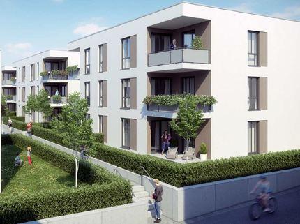 Bild 2 Barrierefreie 3 Zimmer Neubau - Gartenwohnung