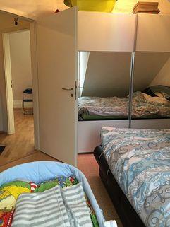 Schlafzimmer weitere Ansicht Denkmalgeschütztes Haus - mit neuem Dachausbau in 2006