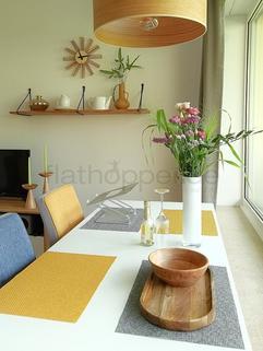 Bild 7 FLATHOPPER.de - Hochwertiges Apartment mit Balkon - auch für Homeoffice - in Schwabing - Freimann