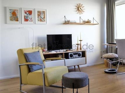 Bild 3 FLATHOPPER.de - Hochwertiges Apartment mit Balkon - auch für Homeoffice - in Schwabing - Freimann
