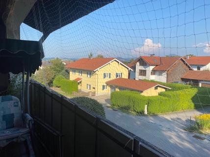 Balkon Aussicht Eigentumswohnung im Zentrum von Saaldorf