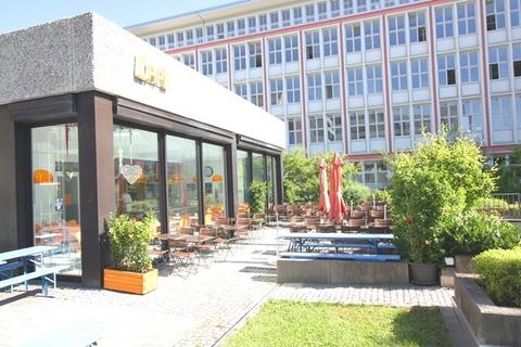 Kantine-Cafe STOCK - Modernes Büro in einem der traditionsreichsten Gewerbeareale Münchens