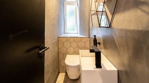 (Kunden-)WC Repräsentative Gewerbeeinheit im Herzen von Haidhausen