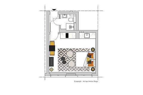 Bild 12 FLATHOPPER.de - 1-Zimmer-Apartment am Barbarossaplatz - Köln