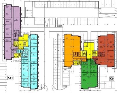 Grundriss 9-11 Erdgeschoss Attraktive Büros zum fairen Mietpreis