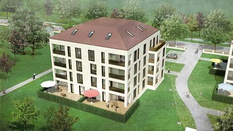 Bild 1 Neubau 1,5-Zi-EG-Wohnung