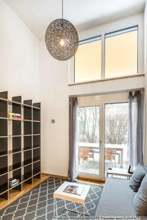 Wohnbereich WALSER: Einzigartige Gelegenheit - Möbliertes Galerie-Apartment für Studenten - zum Sofort-Bezug!
