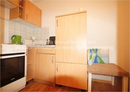 Einbauküche AbacO Immobilien*TIPP: Schick möbliertes Cityappartment, EBK,TLB Wanne 1.OG im Stadtzentrum Leipzig