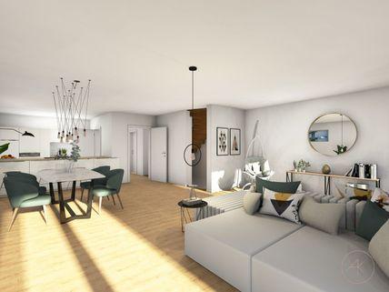 0221RG Neubau einer attraktiven Doppelhaushälfte in Großhadern-Blumenau