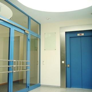 Büroeingang STOCK - Airport Buisness Centre - Ihr neuer Standort!
