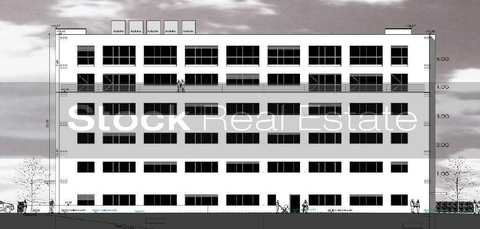 Ostansicht STOCK - Neubau eines Multifunktionsobjekts Büro   Loft   Showroom