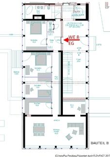 Grundriss Erdgeschoss WE 8 4,5 Zi-Whg-Barierefrei mit KFW 55 am Seidlpark