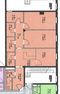 GR - Büro 1 OG - Teil 2 *Bürofläche im 1. OG und DG von 95 bis 130 qm ab sofort zu mieten *
