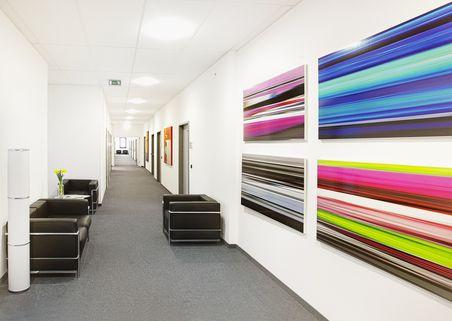 Flur Repräsentative Immobilie und voll ausgestattete Büros mit Service