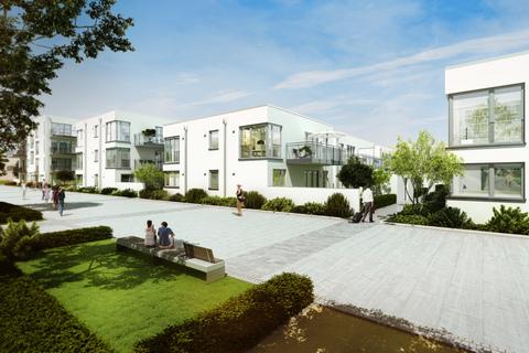 Ansicht Stadtvillen Erstbezug - Großzügige Wohnung im 1.OG mit Südbalkon