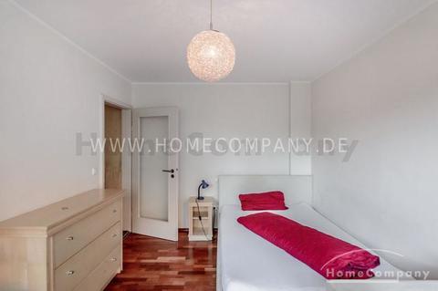 Schlafbereich Möbliertes Appartment im Münchner-Westend mit wöchentlichem Wäschewechsel