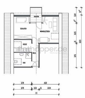 Bild 10 FLATHOPPER.de - Großzügiges Apartment mit Balkon und Stellplatz in Rems-Murr bei Stuttgart