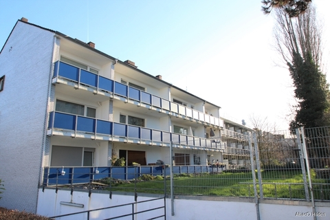 Hinter-Ansicht des Hauses Top Apartment in Holthausen - provisionsfrei!