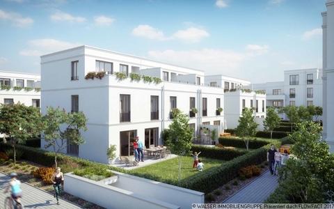 Reiheneckhaus mit Garten Den persönlichen Anspruch verwirklichen: Atelierhaus mit riesiger Dachterrasse und tollem Garten
