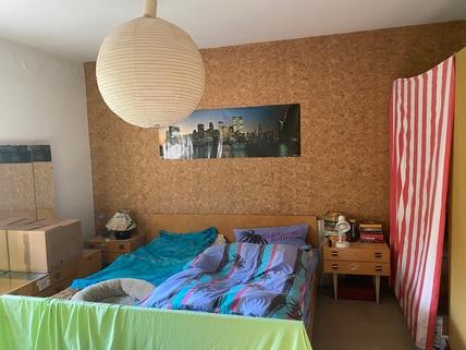 Schlafzimmer Eigentumswohnung im Zentrum von Saaldorf