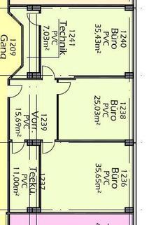 Top_1_S-17 3-Raum Büro mit Klima und Küche im BIZ-Wels, TOP 1S17