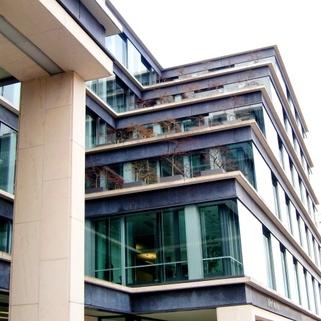 Außen1 Traumbüro in elegantem Neubau
