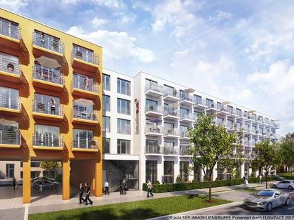 Südansicht Tolles Galerie-Apartment im STUDIOSUS 5 *** Für Studis + Azubis