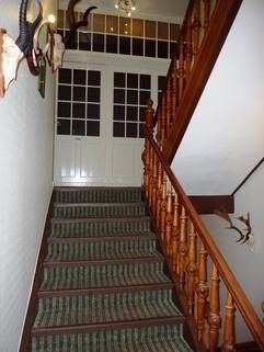 Treppenhaus Hotel mit Gaststätte in Rethem Aller!