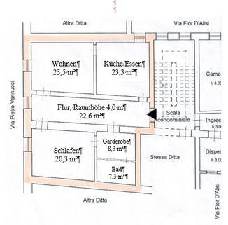 Grundriss FRÜHLINGSPREIS: SLOW Città - Umbrien - Wohnen im mittelalterlichem Haus