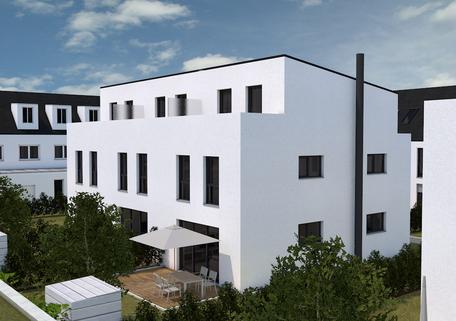 Bild 1 Geräumige, attraktive Neubauhäuser im Labertal