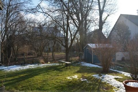 Ansicht Garten Große Doppelhaushälfte in der Hammerschmiede
