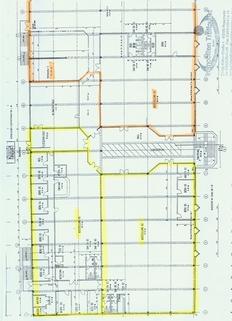 Grundriss 1. OG Ladenflächen in Kolbermoor!  Aufteilung möglich