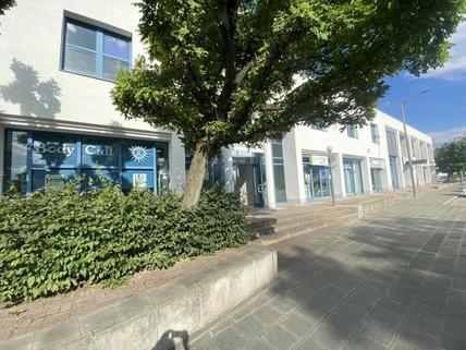 Außenansicht HEGERICH: Großzügige Ladenfläche auf zwei Stockwerken - Beim Fürther Südstadtpark!