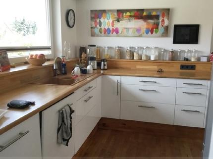 Einbauküche Schicke Doppelhaushälfte mit schönem großem Garten