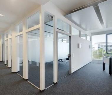 Büroansicht2 STOCK - PROVISIONSFREI - Sensationelle Büroflächen in Unterföhring