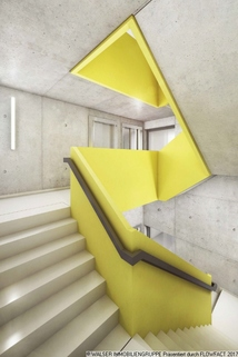 Treppenhaus Dachterrassen-Studentenapartments in Pasing - Perfekt für Kapitalanlage und Mieter