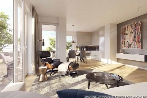 Beispielwohnbereich Einmalige Gelegenheit: Großzügige 4-Zimmer-Wohnung mit Westbalkon und zwei Bädern in Bogenhausen