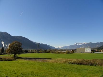 Blick-Süden Gewerbegrundstück für Betriebsgebäude Wörgl West