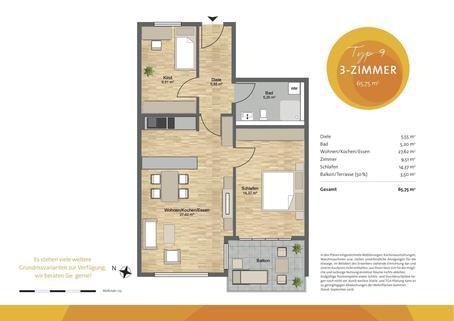 Hausham_Grundriss_Typ_9 HEGERICH IMMOBILIEN: Gartenwohnung in der Alpenregion Tegernsee-Schliersee   Neubau